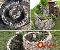 Ideas for Raised Garden Beds Diy Garden, Dream Garden, Lawn And Garden, Garden Projects, Garden Art, Garden Design, Herb Garden, Gabion Wall, Gardening