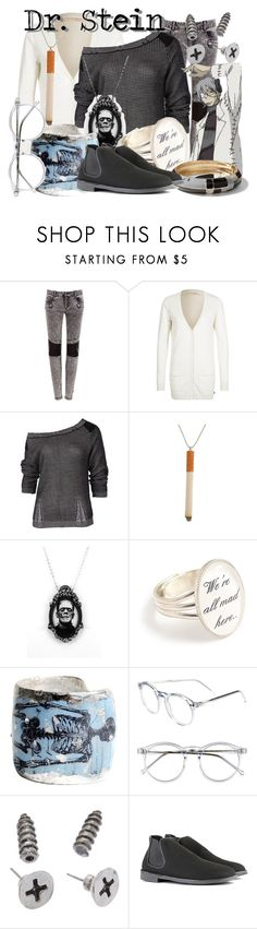 """(Professor) Dr. Franken Stein from Soul Eater"" by likeghostsinthesnow ❤ liked on Polyvore featuring Pull&Bear, Tom Tailor Denim, Sabatini, Évocateur, Wildfox, Sequin and Vegetarian Shoes"