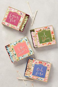 Prettiest matches ever!