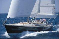Sailing charter yacht Grand Soleil 46.3 This beautiful sailboat has 4 cabins and 8+2 berths and is available for charter in Croatia, Slovenia, Greece and Spain.