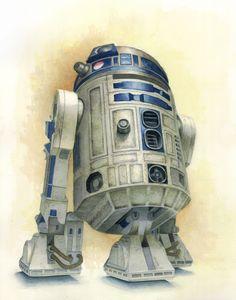 R2-D2 | Star Wars | #starwars #starwarsart #starwarsfanart #r2d2