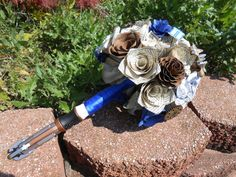 Hey, I found this really awesome Etsy listing at https://www.etsy.com/listing/206856645/dr-who-paper-flower-wedding-bouquets-you