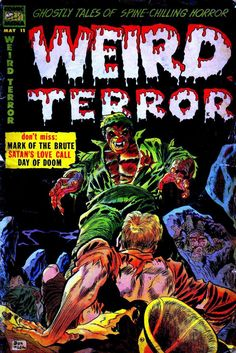 Comic Book Cover For Weird Terror #11