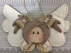 me ~ Angelo Country Creations . in my own way- Angelo Country Creations … in my own way - Felt Christmas, Christmas Angels, Christmas Time, Christmas Ornaments, Angel Ornaments, Felt Ornaments, Felt Angel, Christmas Crafts For Toddlers, Angel Crafts