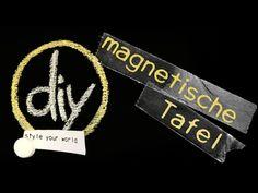 DIY - Magnettafel selber machen - YouTube