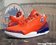 "THE SNEAKER ADDICT: Air Jordan III 3 Retro ""All-Star"" Sneaker For Pedro Alvarez By Mache Custom Kicks (Images)"