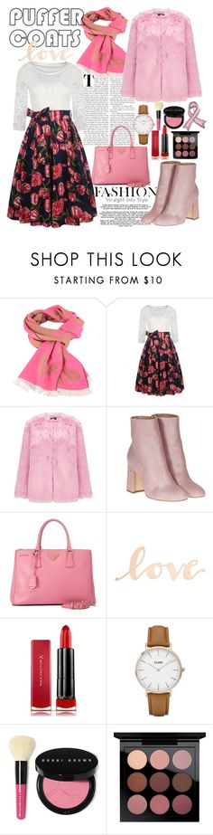 """""""7"""" by rahmanilarasati99 ❤ liked on Polyvore featuring Miss Selfridge, Laurence Dacade, Prada, Primitives By Kathy, Max Factor, CLUSE, Bobbi Brown Cosmetics, MAC Cosmetics and Bling Jewelry"""
