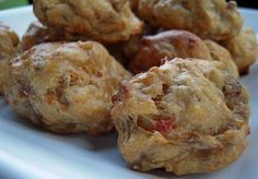 ROTEL Sausage Balls - gameday snacks