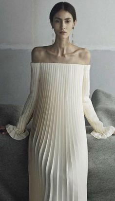 @roressclothes clothing ideas #women fashion white maxi dress Valentino