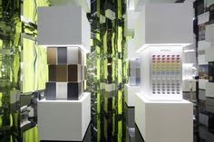 'Collaboration Elements' by LG Hausys - HI-MACS® - Milan Design Week 2016. ©Tiziana Arici