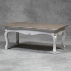 SHABBY CHIC FRENCH FARMHOUSE STYLE COFFEE TABLE - NEW