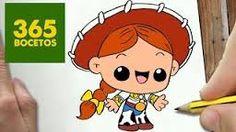 Resultado de imagen para imagenes de 365bocetos kawaii Disney Drawings, Cartoon Drawings, Drawing Sketches, Drawing Art, Kawaii Disney, Easy Drawing Steps, Step By Step Drawing, Sweet Drawings, Easy Drawings