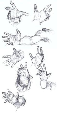 Foreshortening Practice by falyn4god.deviantart.com on @DeviantArt Más