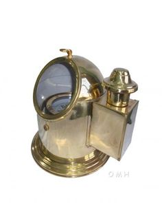 This is a functional replica of the Binnacle compass. It was made of brass using die cutting & bending process. A ship compass with floating dial is fitted inside which can be seen through the glass window.   $95.00 Vintage Compass, Room Themes, Nautical Theme, Brass, Bending, Die Cutting, Window, Ship, Decor