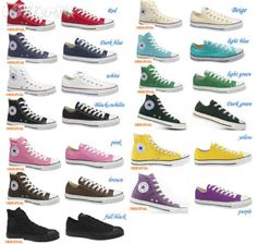 Converse, my first shoe love. How some women are about heels, I am about chucks. Real talk I would walk down the aisle in the purple ones.