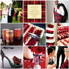 Tartan wedding. Yes to all of this. And LOTS of kilts!