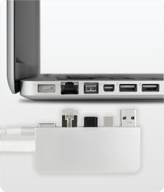 ZenDock Pro keep all your cords out of the way!