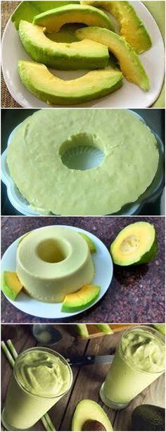 Mousse de Abacate…Fica Super Gostoso!! VEJA AQUI>>>Prepare uma forma pequena de buraco no meio, untando-a com óleo. Reserve. #receita#bolo#torta#doce#sobremesa#aniversario#pudim#mousse#pave#Cheesecake#hocolate#confeitaria