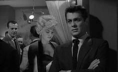 Tony Curtis in The Sweet Smell of Success. Just watched this a couple nights ago on TCM...what a phenomenal film.