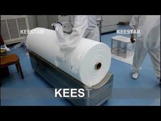 Melt Blown / Meltblown Cloth / Fabric Machine - YouTube Making Machine, Toilet Paper, Youtube, Fabric, Clothes, Tejido, Outfits, Tela, Clothing