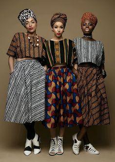 Aprenda a usar e se inspire com a mistura de estampas africanas  e cores. Moda feminina com muita ousadia! / Blog OH NANAS!