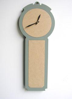 modern colonial wall clock