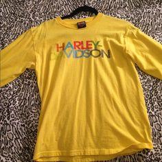 Harley Davidson Long Sleeve Shirt Fits like a small/medium. No damage Harley davidson Tops Tees - Long Sleeve