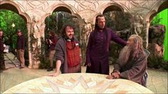 The Lord of the Rings - The Fellowship of the Ring - backstage pic