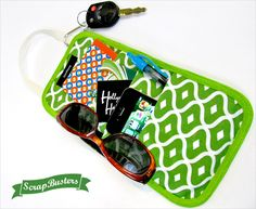 ScrapBusters: Door Knob Reminder Caddy | Sew4Home