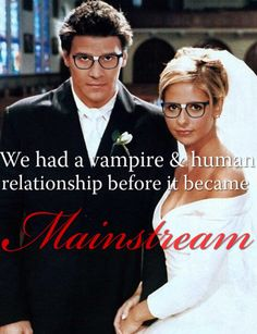 AND she didn't want to become a vampire, she wanted to kill them. Team Buffy for life.