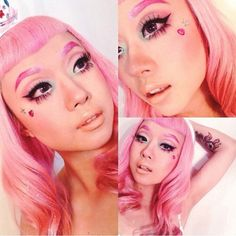 annabellstyle looks sweet as candy with her Cosmopop lip!