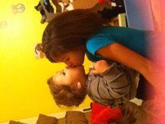 Baby cuz give'n me a kiss!!!!!!