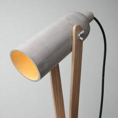 cement - wood light