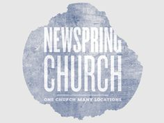newspring church t-shirt.