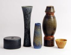 Freeforms - Carl Harry Stalhane Art Pottery for Rorstrand