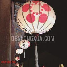 Đèn Tròn Vẽ Họa Tiết Nhật Bản
