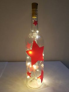 Flaschendeko Schneemann Mitbringsel Weihnachten Wein-//Sektflasche dekorieren