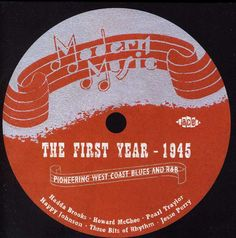 Modern Music-The First Year 1945 - Modern Music-The First Year 1945