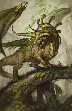 2015 Zodiac Dragons Taurus, Christina Yen on ArtStation at http://www.artstation.com/artwork/2015-zodiac-dragons-taurus