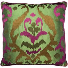 Bellezza - green - SOFA AFFAIRS Green Sofa, Affair, Home Accessories, Rugs, How To Make, Home Decor, Silk, Threading, Pillows