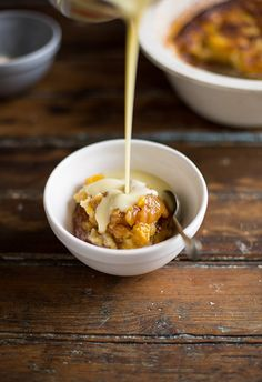sticky mango pudding