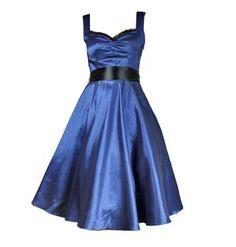 Sweetheart Dress - Blue Sweetheart Dress