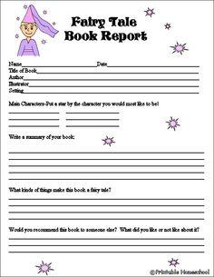 Write a book report generator