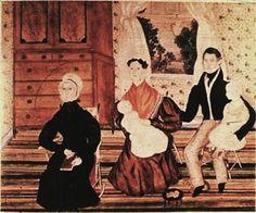 Deborah Goldsmith (American artist, 1808-1836) The Talcott Family 1832