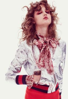 Lindsey Wixson by Ch