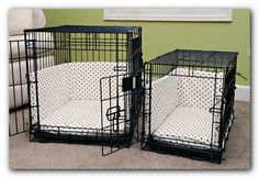 Custom dog crate covers and bumper pads Simplicity Pattern #4713