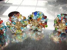 Artsy Glass Stone Drawer Pulls