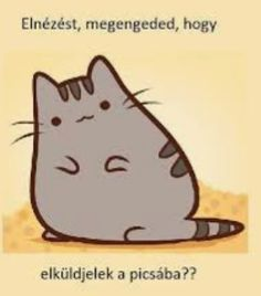 Pusheen Cat, Grumpy Cat, Funny Moments, Haha, Motivational Quotes, Funny Pictures, Jokes, Cute, Fictional Characters