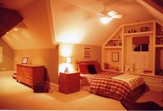 Bedroom Photos Attic Design, Pictures, Remodel, Decor and Ideas - page 24