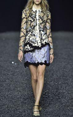 Andre Embellished Dress With Collar by Mary Katrantzou - Moda Operandi